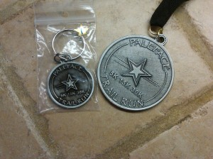 Paleface 30k medal and award_Oct 2013